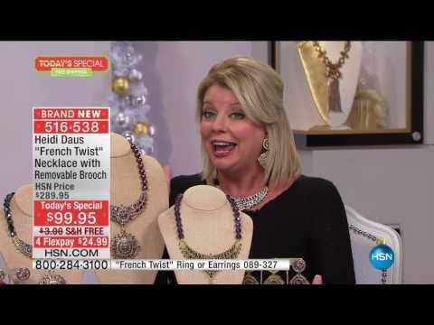 HSN | Heidi Daus Fashion Jewelry Gifts . http://bit.ly/2YfGq9c