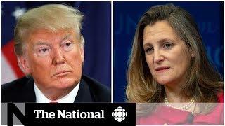 Trump's harsh comments earn Chrystia Freeland compliments