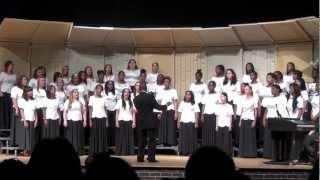joyfully sing schs fall chorus concert select womens choir october 4 2012