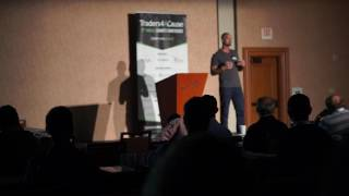 How To Get Over Blown Up Trading Accounts And Win -TraderTalks Traders4ACause Gala Event Keynote