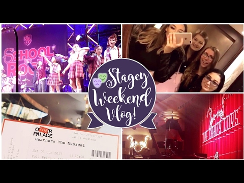 LONDON VLOG!🎭 Heathers The Musical UK Premiere, School of Rock & Tucker on Tour!
