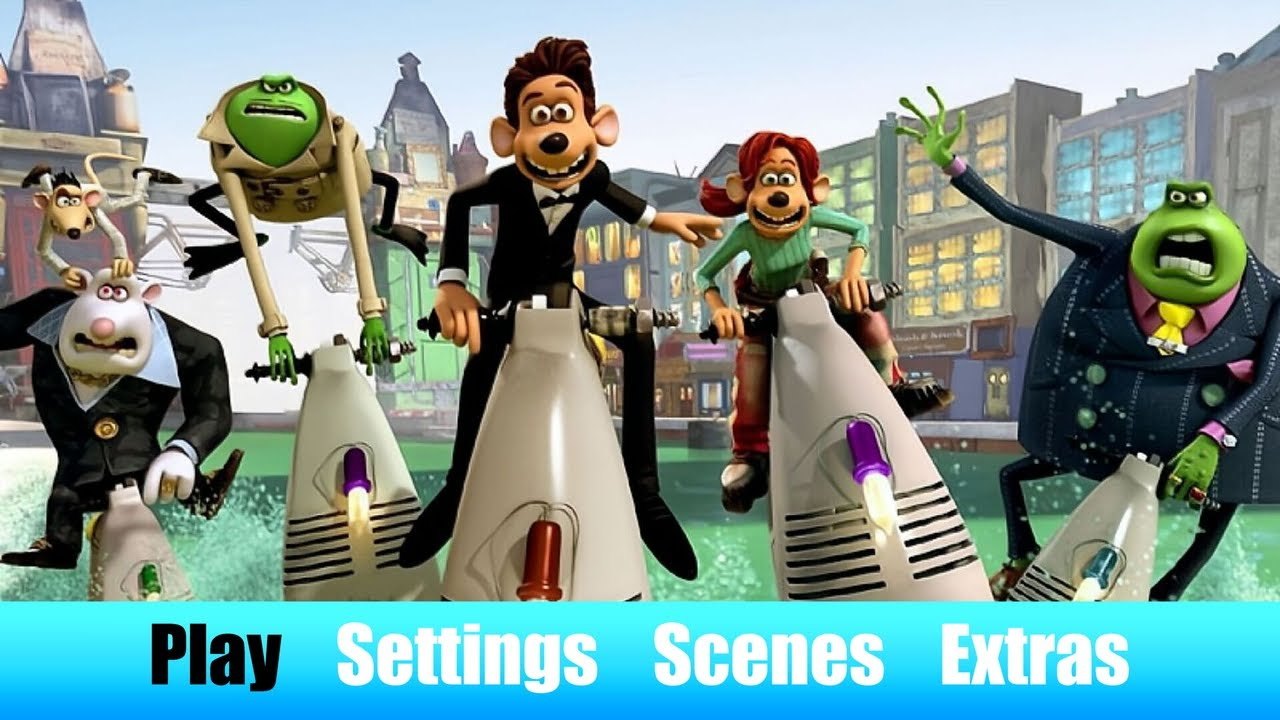 Download Flushed Away (PHE version)   Fanmade Blu-ray cover