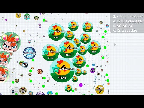 INSANE AGAR.IO MOBILE REVENGE / OVERCROWDED SERVER SOLO GAMEPLAY
