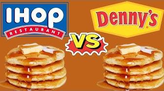 IHOP vs Denny's Pancakes