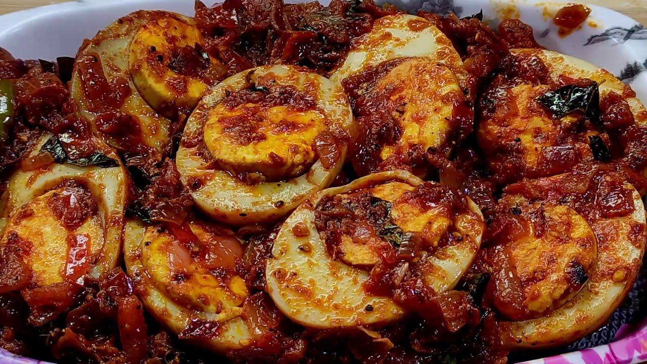 Download egg fry/masala egg fry/boiled egg fry/spicy egg fry/egg recipes