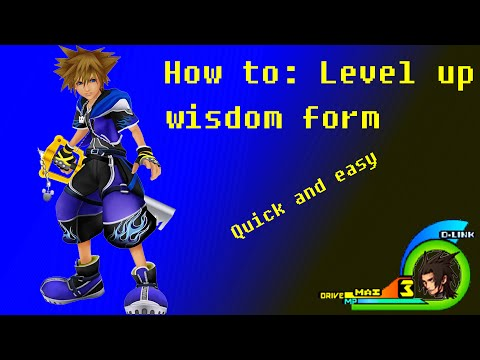 KINGDOM HEARTS 2 FINAL MIX (HOW TO LEVEL UP MASTER FORM QUICKLY ...