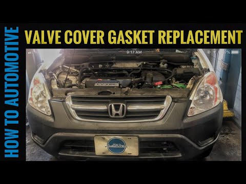 How to Replace the Valve Cover Gasket on a 2002-2006 Honda CR-V with 2.4L Engine