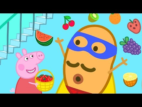 Peppa Pig Official Channel | Peppa Pig Sings The Fruit Song