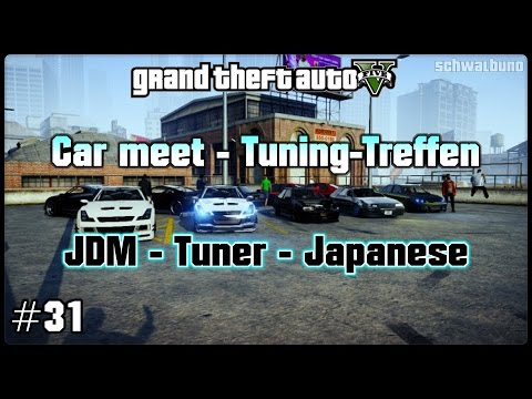 GTA 5 Online car meet #31 / JDM – Tuner- Japanese (PS3) / Tuning-Treffen