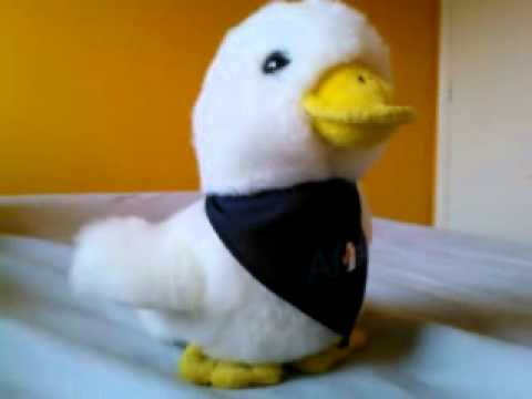 aflac plush toy duck youtube