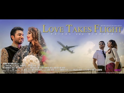 Singapore Indian Muslim Wedding | Love Takes Flight | Faizal & Nishana by Digimax Video Productions