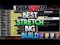 NBA 2K19 BEST STRETCH BIG BUILD! Best Power Forward Build For Shooting! (Best Big Man Build)