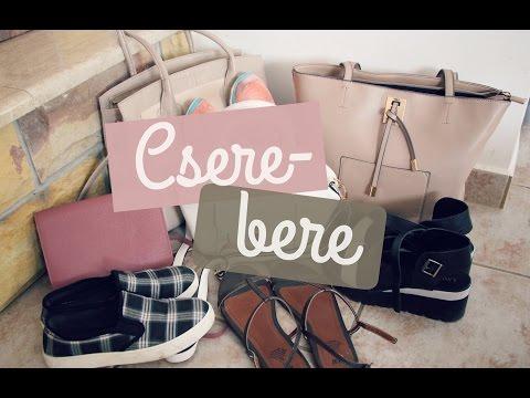Csere-bere táskákkal és cipőkkel | Lina és Panni