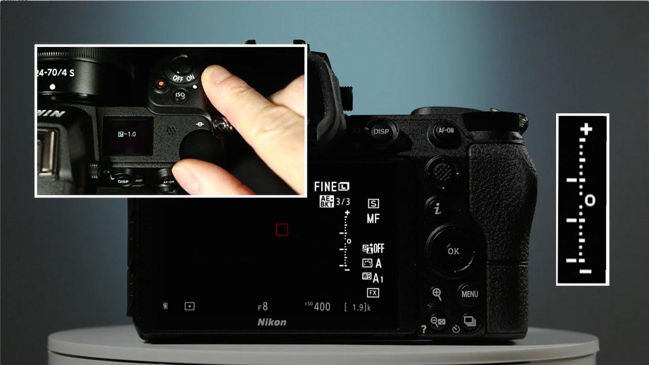 Nikon Z7 Exposure Bracketing Setup Tutorial