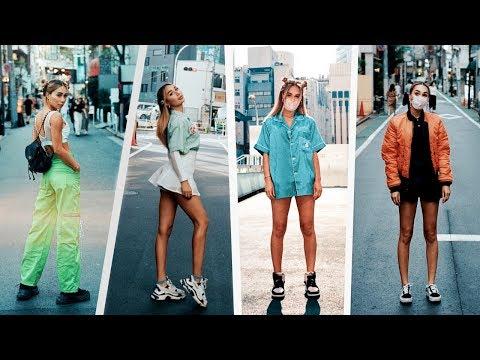 HUGE Tokyo Vintage Thrifting Try On Haul  MyLifeAsEva