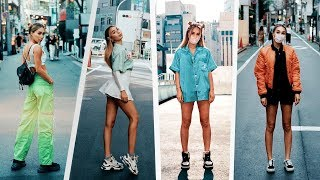 HUGE Tokyo Vintage Thrifting Try On Haul! | MyLifeAsEva