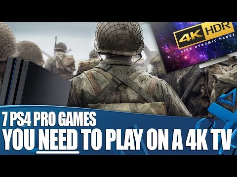 7 PlayStation 4 Pro Games You NEED To Play On A 4K TV