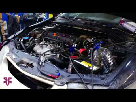 Honda Accord Tsx Cl9 Turbo Awd Conversion First Time Run