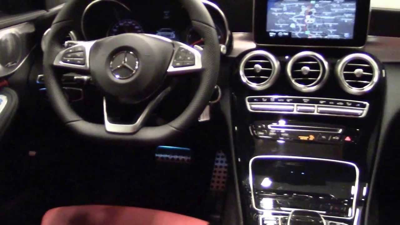 Exclusive new 2015 mercedes benz c class amg package for Interieur mercedes classe a