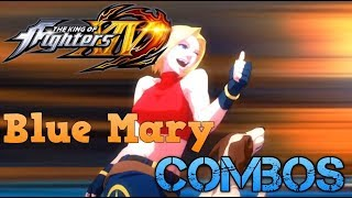 The King of Fighters XIV Blue Mary combos (CMV)