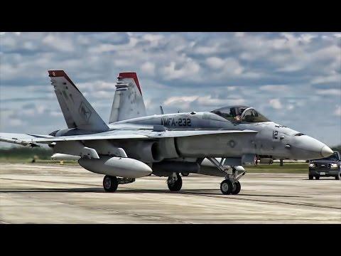 U.S. Marine Corps Aviation • F/A-18C Hornet Jet Fighters
