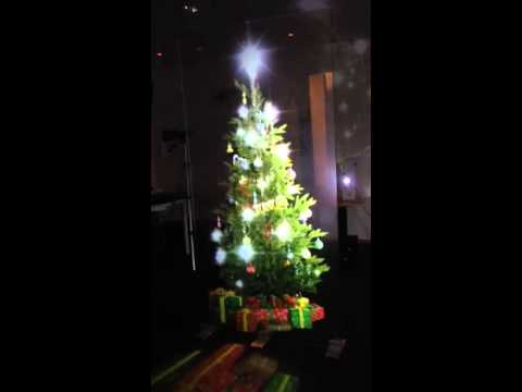 hologram christmas tree - Hologram Outdoor Christmas Decorations