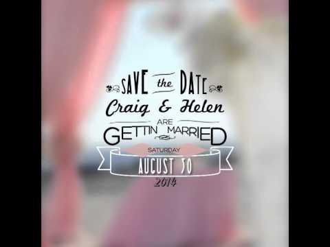 Wedding invitation save the day video sample for facebook wedding invitation save the day video sample for facebook youtube instagram twitter email stopboris Images
