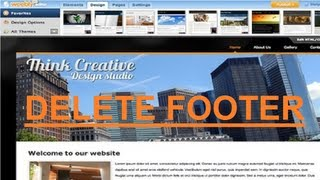 How to Remove Weebly Footer 2013