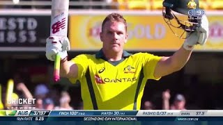 Fantastic Finch makes it back-to-back tons