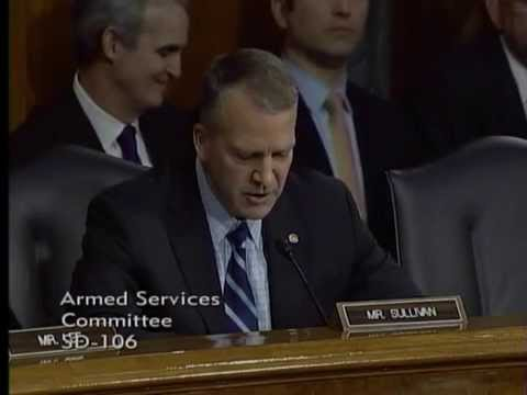 Sen. Dan Sullivan (R-AK) Questions Military Leadership on Impacts of Sequestration