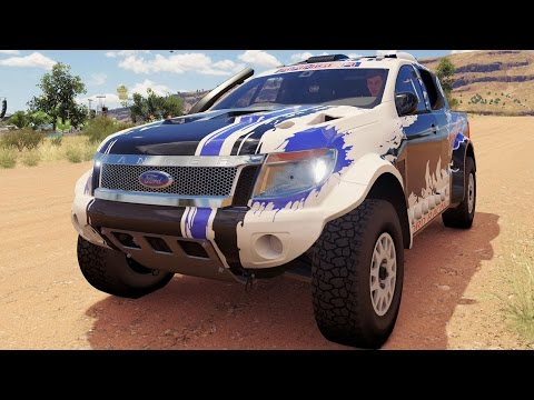 Ford Ranger T6 Rally RAID 2014 - Forza Horizon 3 - Test Drive Free Roam Gameplay (HD) [1080p60FPS]