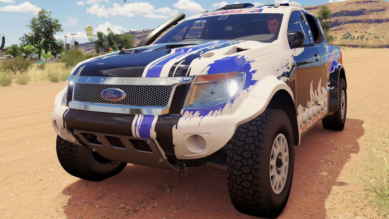 Ford Ranger T6 Rally RAID 2014 - Forza Horizon 3 - Test ...