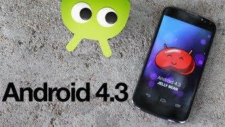 Первый Обзор Android 4.3 На Русском от AndroidInsider.ru
