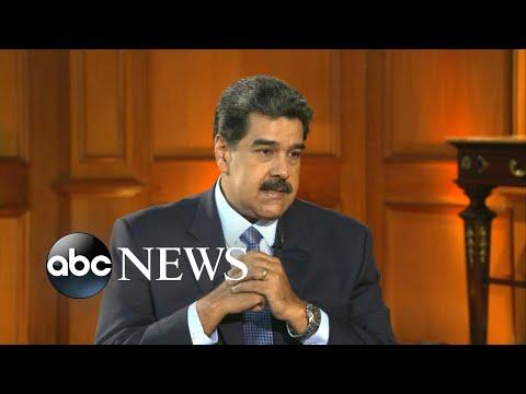 Nicolas Maduro accuses US of fabricating a crisis