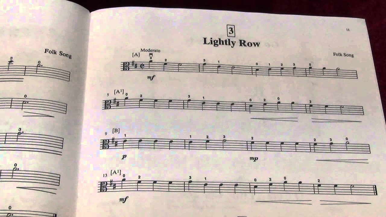 Suzuki Cello May Song