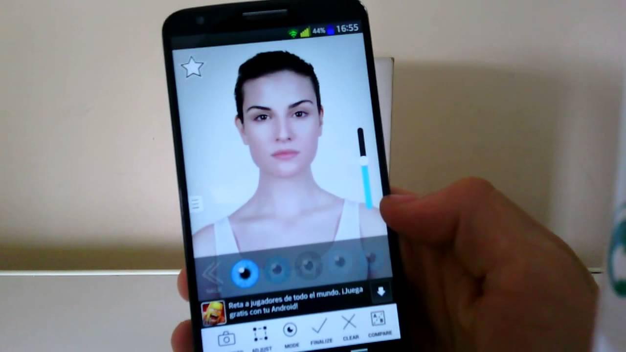 Aplicaciones para cambiar color de cabello android