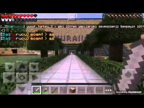 Minecraft Pe★Iron Craft★ Türk Serveri -TANITIM