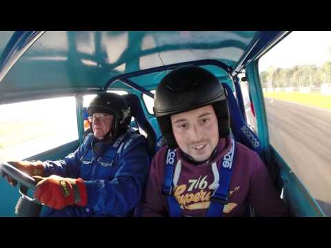 MINI WORLD ACTION DAY CASTLE COMBE SEPT 2015 ON BOARD WITH BILL RICHARDS