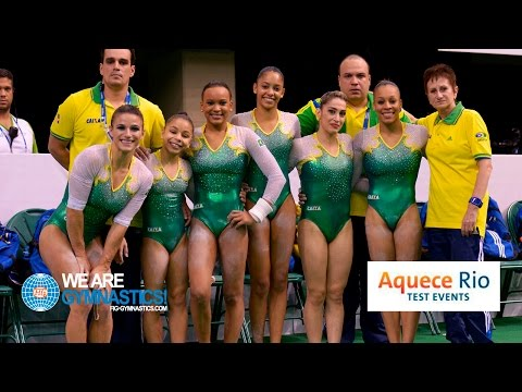 HIGHLIGHTS - 2016 Olympic Test Event, Rio (BRA) - Women's Team Competition
