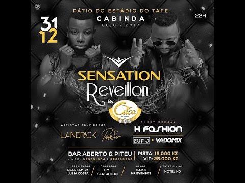 Reveillon White Sensation By Cuca em Cabinda com Landrick e Preto Show