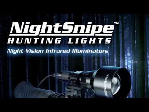NightSnipe Hunting Lights & Michigan Coyote Hunting Outdoors