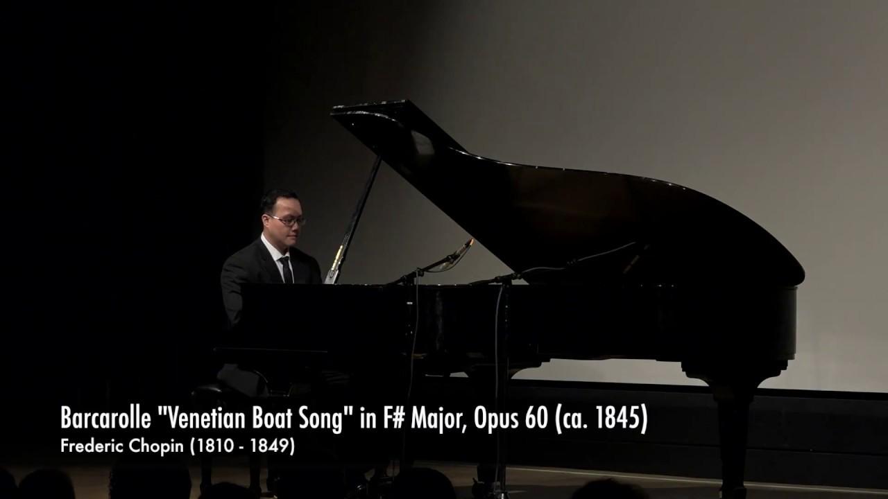 Barcarolle Wikipedia >> Barcarolle In F Major Opus 60 Ca 1845 Frederic Chopin 1810