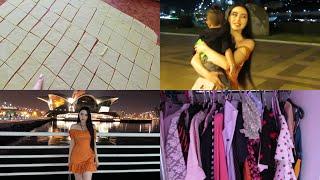Ночные прогулки с подругами / Vlog Baku🇦🇿 Ayka Emilly