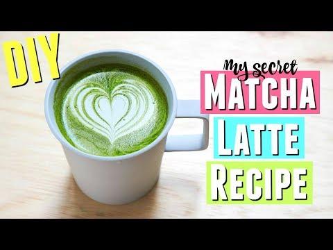 My Secret Matcha Green Tea Latte Recipe, DIY Matcha Latte Recipe at Home