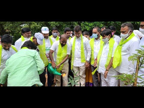 NRI TRS UK team participated in #mukkotivruksharchana -#KTRBirthday - 1