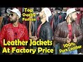 Leather Jackets In Factory Price | Explore jackets Factory | 100% Leather.....