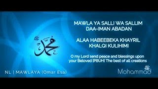 Lyrics | Mawlaya by Omar Esa (Translate English)