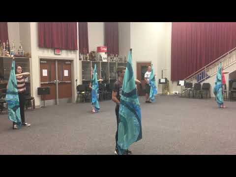 Moana - You're Welcome-RCHS Color Guard Routine