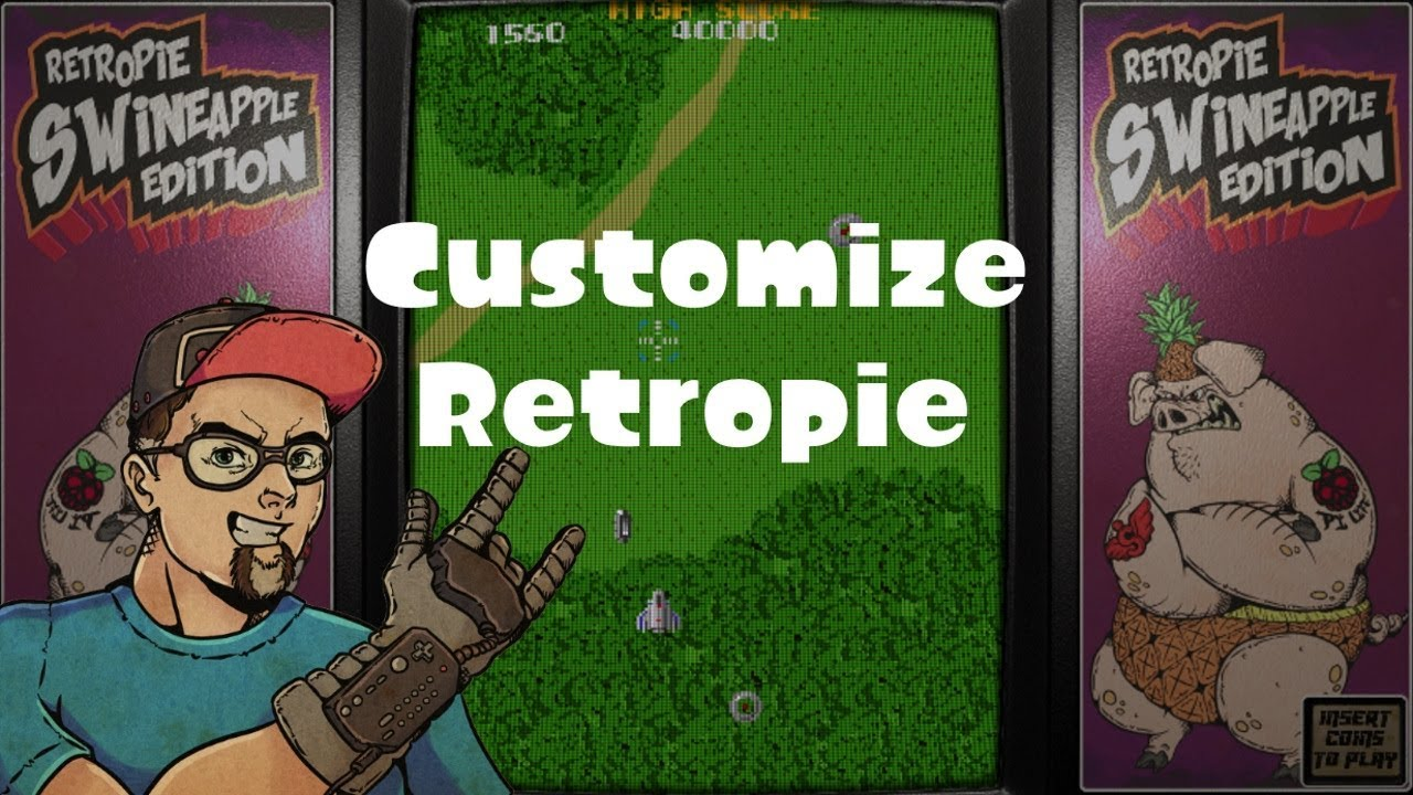 How To Use Shaders, Scanlines, Bezels & Custom Game Controls On RetroPie &  How To Remove Them All!