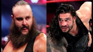 WWE Roman Reigns VS Braun Strowman Feud Hightlights Sunday Night